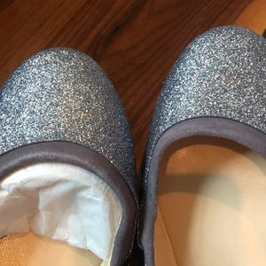 Cole Haan Shoes - Cole Haan Avery Glitter Ballet Flats Storm Cloud 8